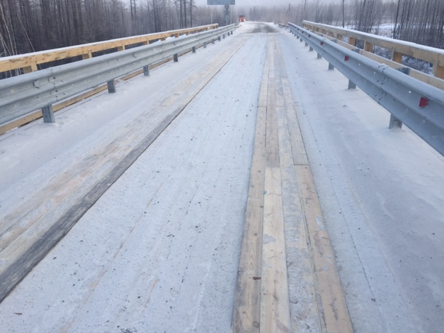 Bridge-prefabricated bridge